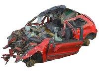 car wreck 16k model