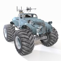 bigfoot monster truck 3D