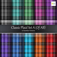 Classic Plaid Seamless Fabric Textures
