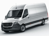 Mercedes Sprinter 2018 long L2H3 and L3H3