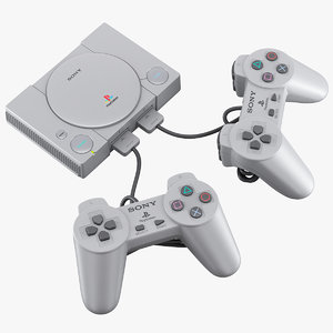 sony playstation classic 3D model