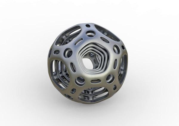 metal balls 3D