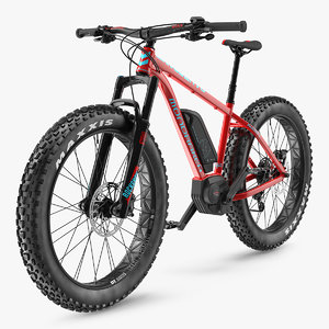 3D model electric fat bike mondraker