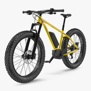 3D electric fat bike generic model