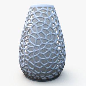 3D flower vase printing