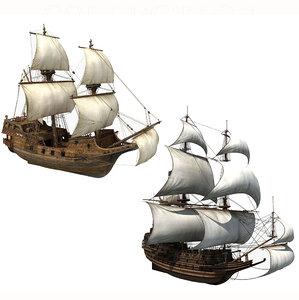 sailboat sail model