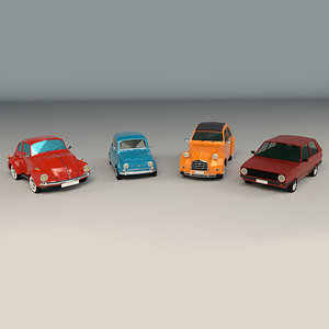 city car ar 3D model