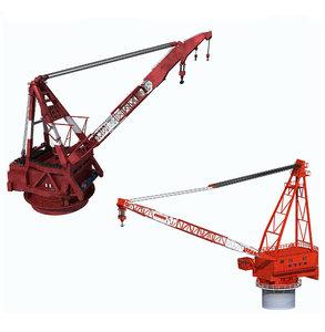 cranes ship 3D model