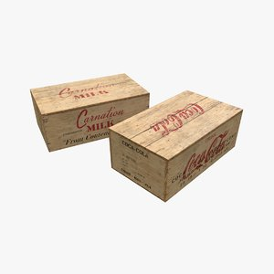 3D wooden boxes rations