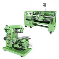 industrial equipment lathe 3D model
