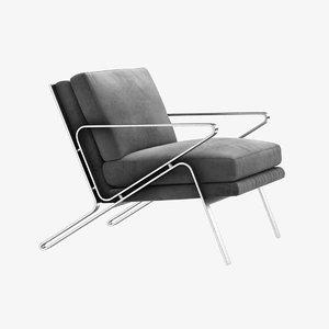 3D chair bernhard antoni model