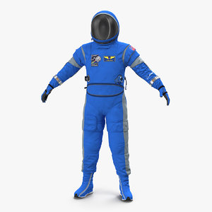 3D boeing spacesuit space