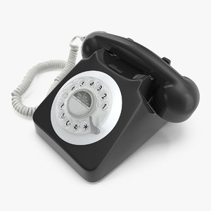 classic style rotary dial model
