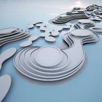 3D concept city