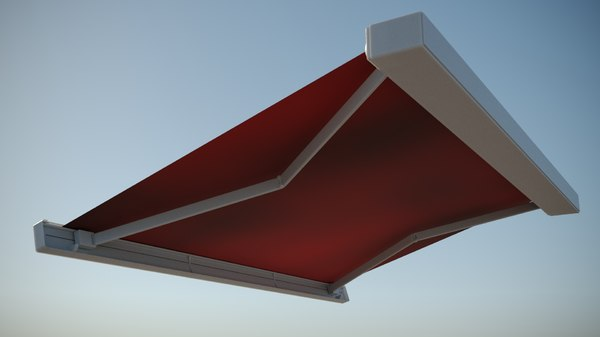awning markilux 970 3D model