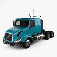 vnl 430 tractor 3D model