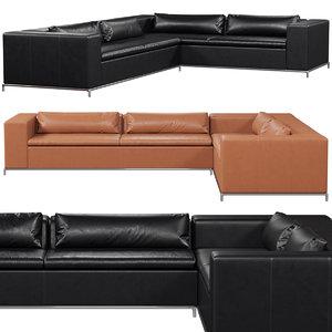 3D model sede ds-7 sofa
