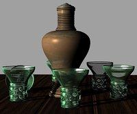 17th century dutch drink 3D model