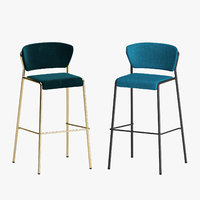 3D model lisa stool scab design