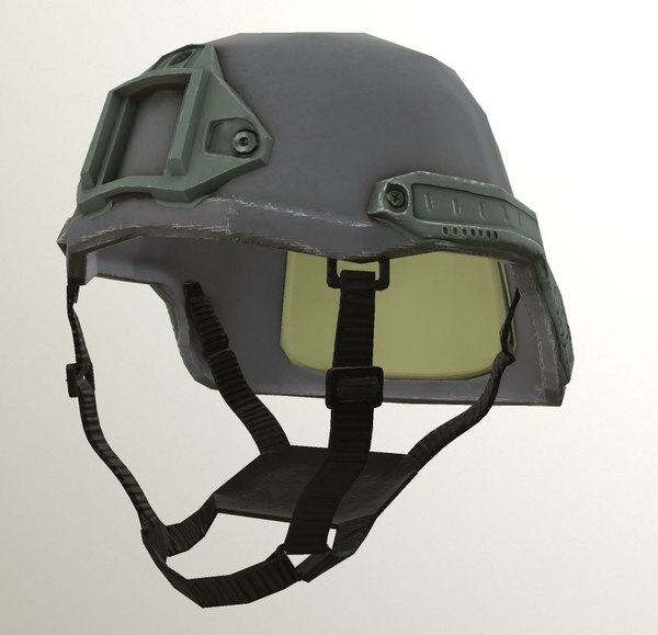 helmet pbr 3D model