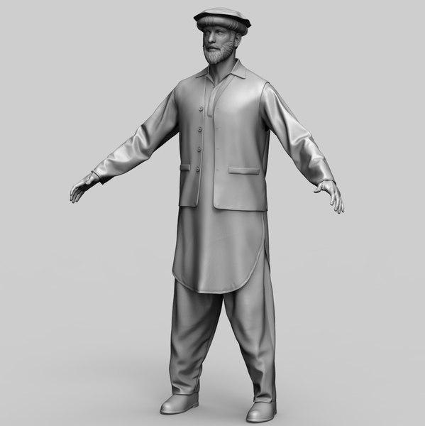 taliban 3D model