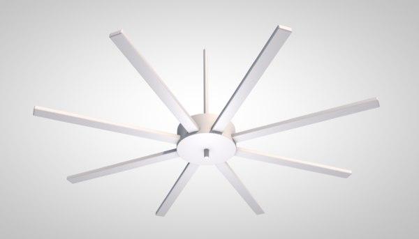 3D model air fan