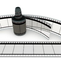 3D film roll motion model