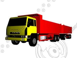 truck fuso model