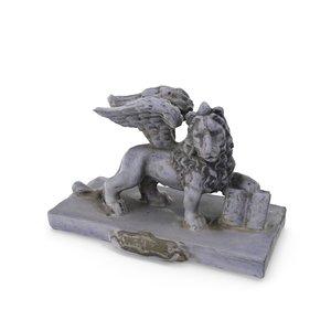 - version lion venice 3D