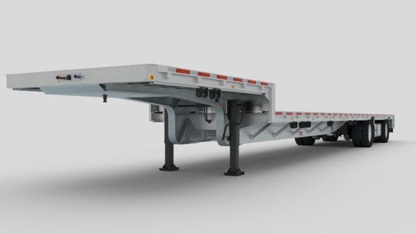 3D dropmiser trailer