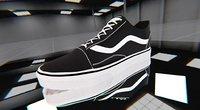 example vans shoes 3D model