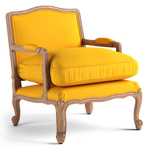 vical armchair lieja 3D model
