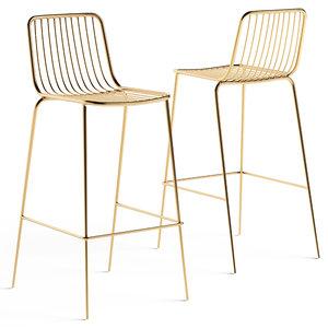 3D vical stool ghedi model