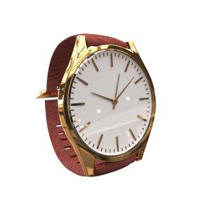 3D watch jewelry
