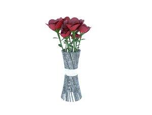flower vas 3D model