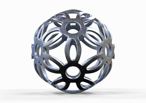 3D spherical geometry printing