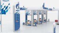 3D refueling gas