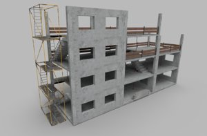 3D construction elements modeled