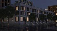 3D housing residential dusk