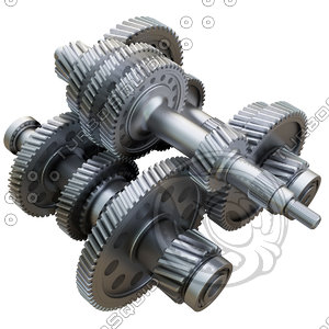 gears wheels 3D