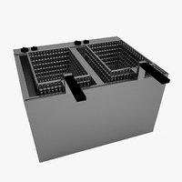 kitchen fryer 3D
