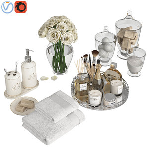 3D decorative silver