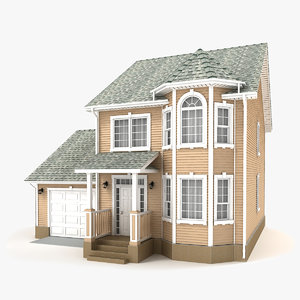 two-story cottage 73 model