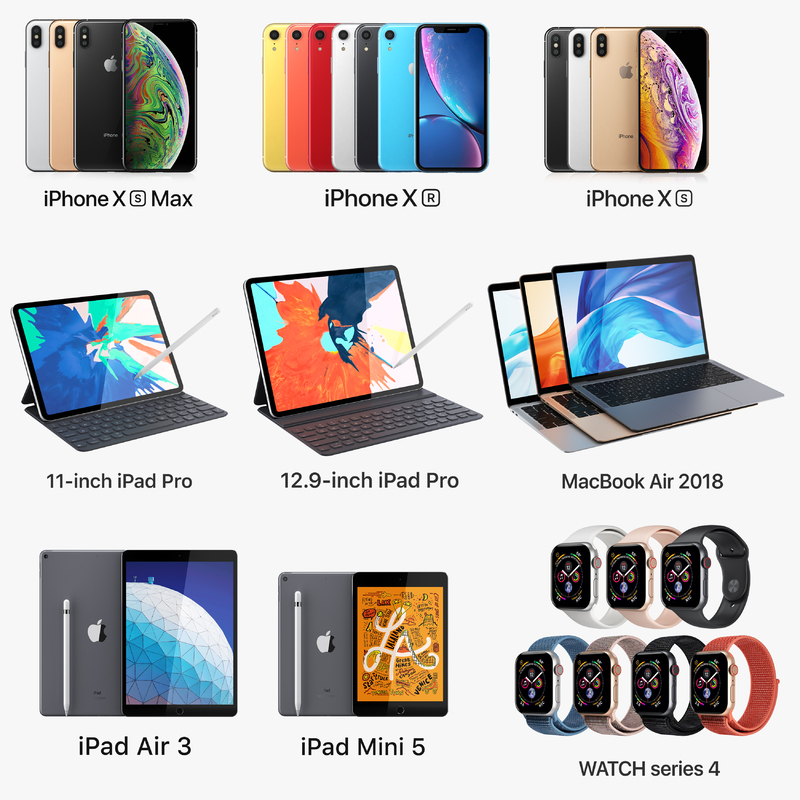 apple electronics 2018 macbook 3D model