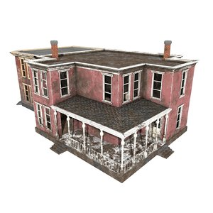 buildings games 3D model