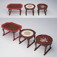 3D coffee table furniture model