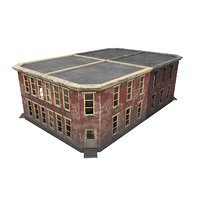 games ready buildings 3D model