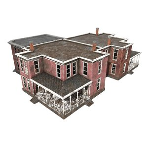 3D buildings games model