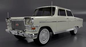 3D model devrim car