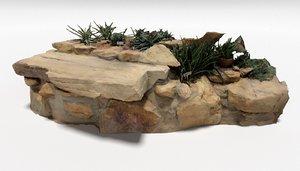 stone altar model